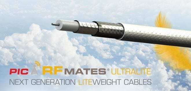 50 Ohm Coaxial Cables - Lightweight Aircraft Coaxial Cables | Picwire